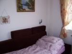 Small bedroom (6m2) with double sofa bed